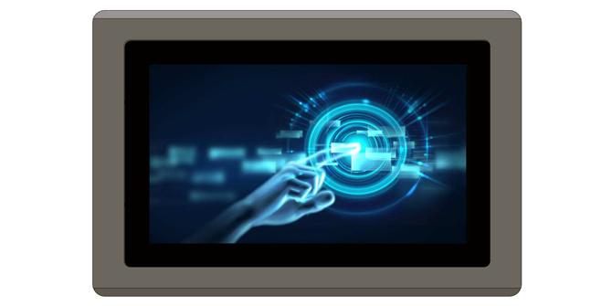 北京諾維工控新款推出7寸工業電容觸摸平板電腦NPC-7070GT